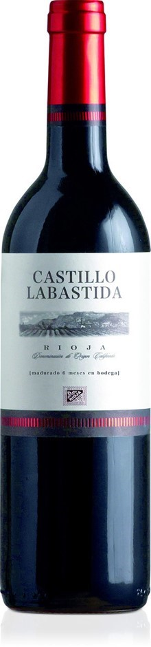 Castillo Labastida Rioja Madurado DO 2017 (12 x 750mL), Spain.