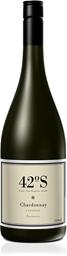 42  Degrees South Chardonnay 2019 (12 x 750mL), TAS.