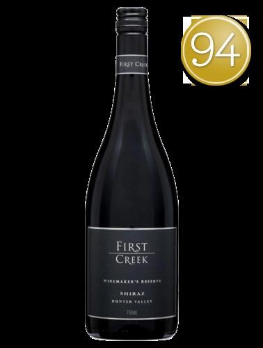 First Creek Reserve Shiraz 2015 (6 x 750 ml), Hunter Valley, NSW