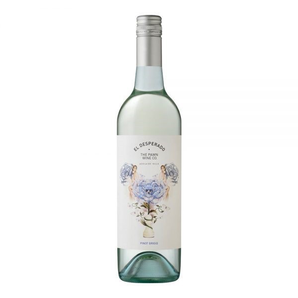 The Pawn Wine Co. El Desperado Pinot Grigio 2019 (12 x 750mL), SA.