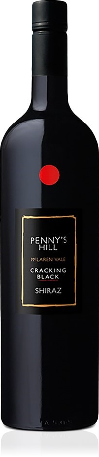 Penny's Hill Cracking Black' Shiraz 2017 (6 x 750ml) McLaren Vale SA
