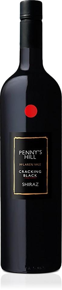 Penny's Hill Cracking Black' Shiraz 2017 (6 x 750ml) McLaren Vale SA