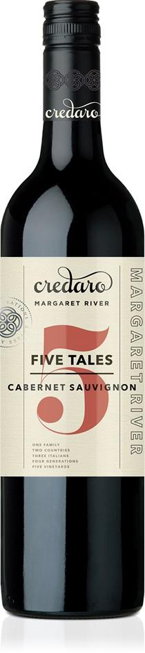 Credaro Five Tales Cabernet Sauvingon 2018 (12x 750mL). Margaret River