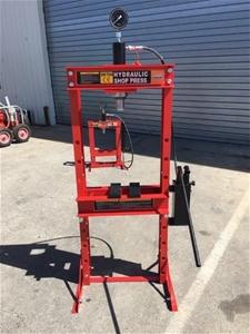 Unused 20 Ton Hydraulic Workshop Press