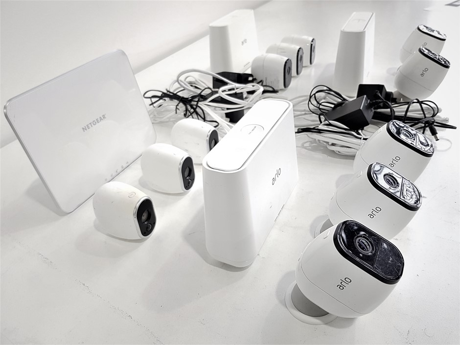 Assorted USED/UNTESTED Netgear Security Camera Systems