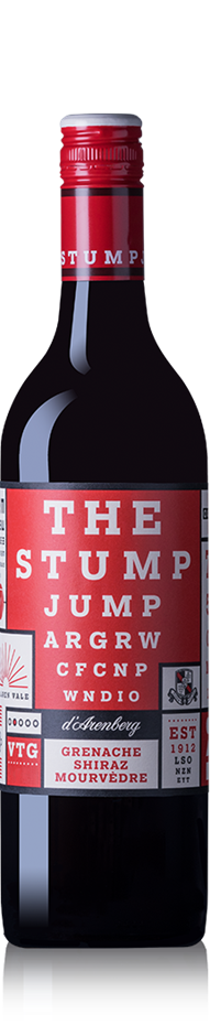 d'Arenberg The Stump Jump Grenache Shiraz Mouvedre 2017 (12x 750mL). SA