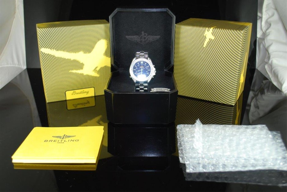 "Gents Breitling ""Limited Edition - Pluton Professional Quartz A51038"" Watch"
