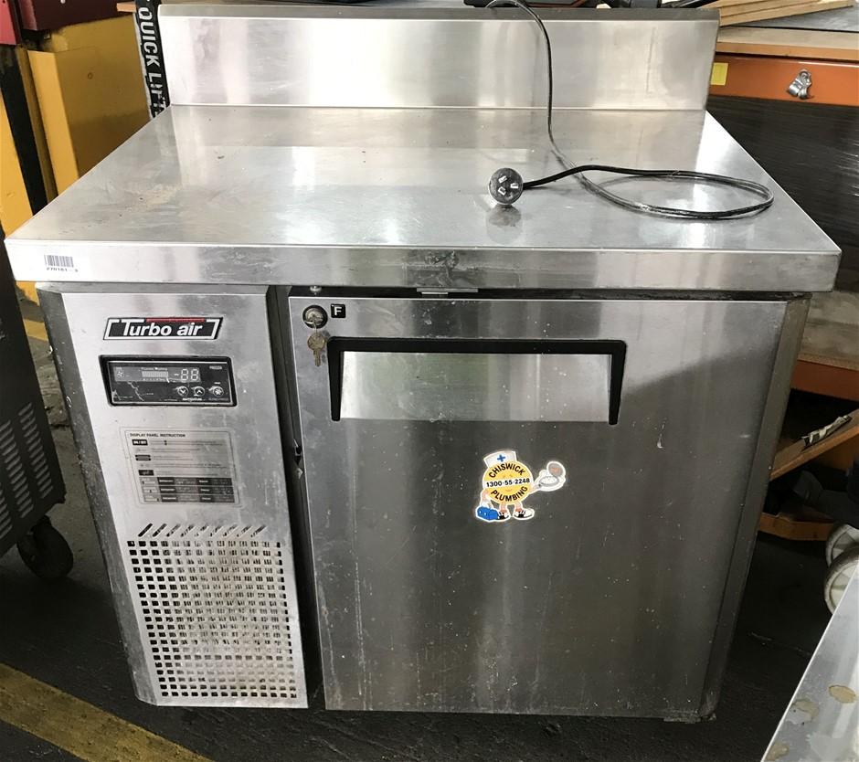 Turbo Air KUF9-1 Undercounter single door freezer, mobile