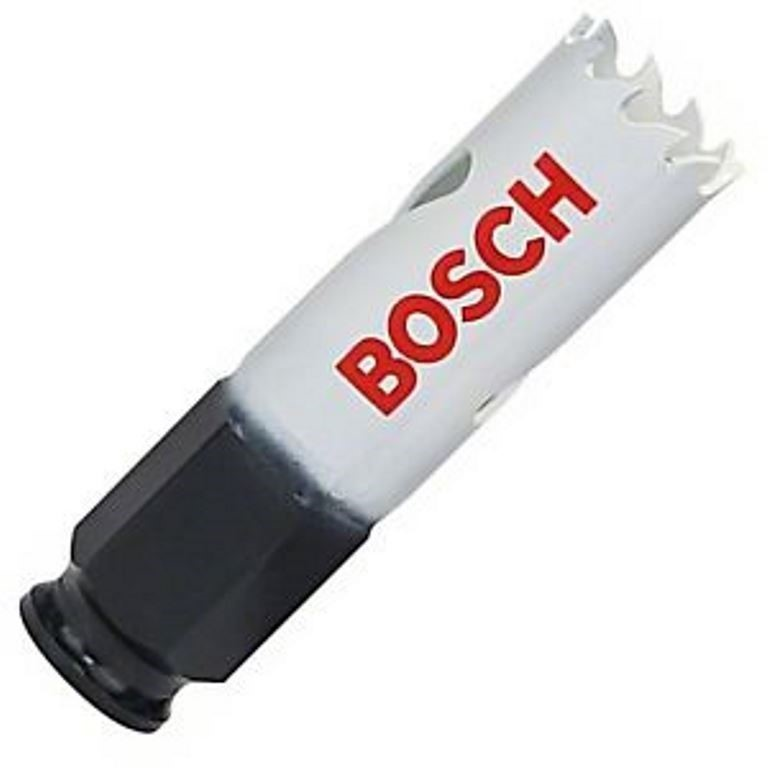 4 x BOSCH 20mm Bimetal Power Change Hole Saws. Buyers Note - Discount Freig
