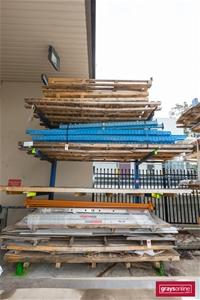 Heavy Duty Steel Stock Rack, 5 x Upright