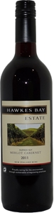 Hawkes Bay Estate Merlot Cabernet 2011 (