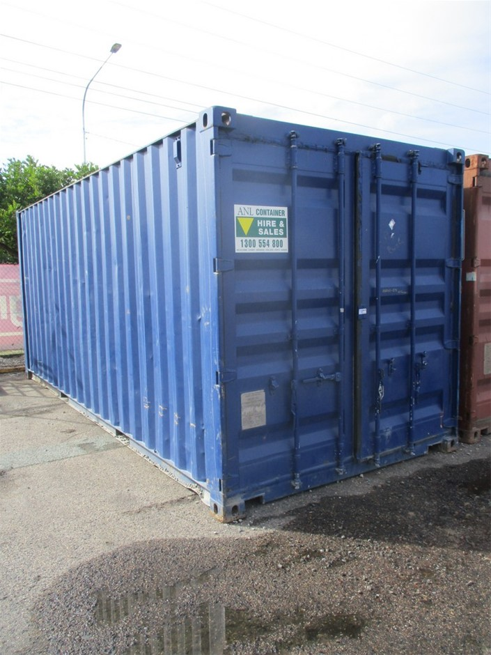 20FT Container and Contents