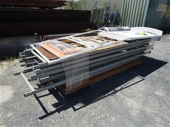 Qty of Storage Rack Uprights