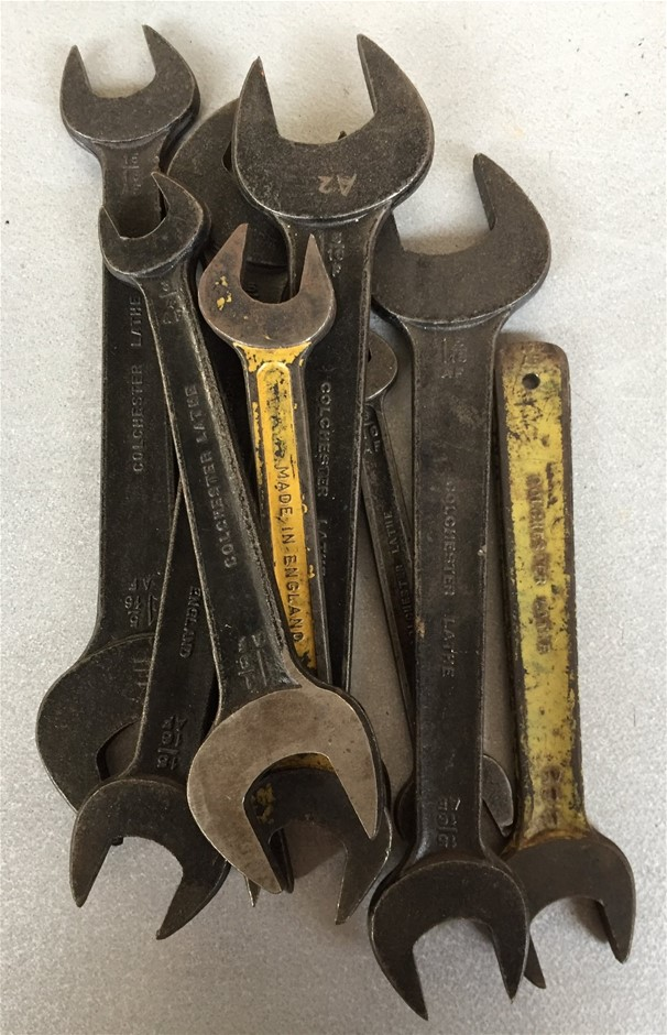 8x Colchester Lathe Spanners