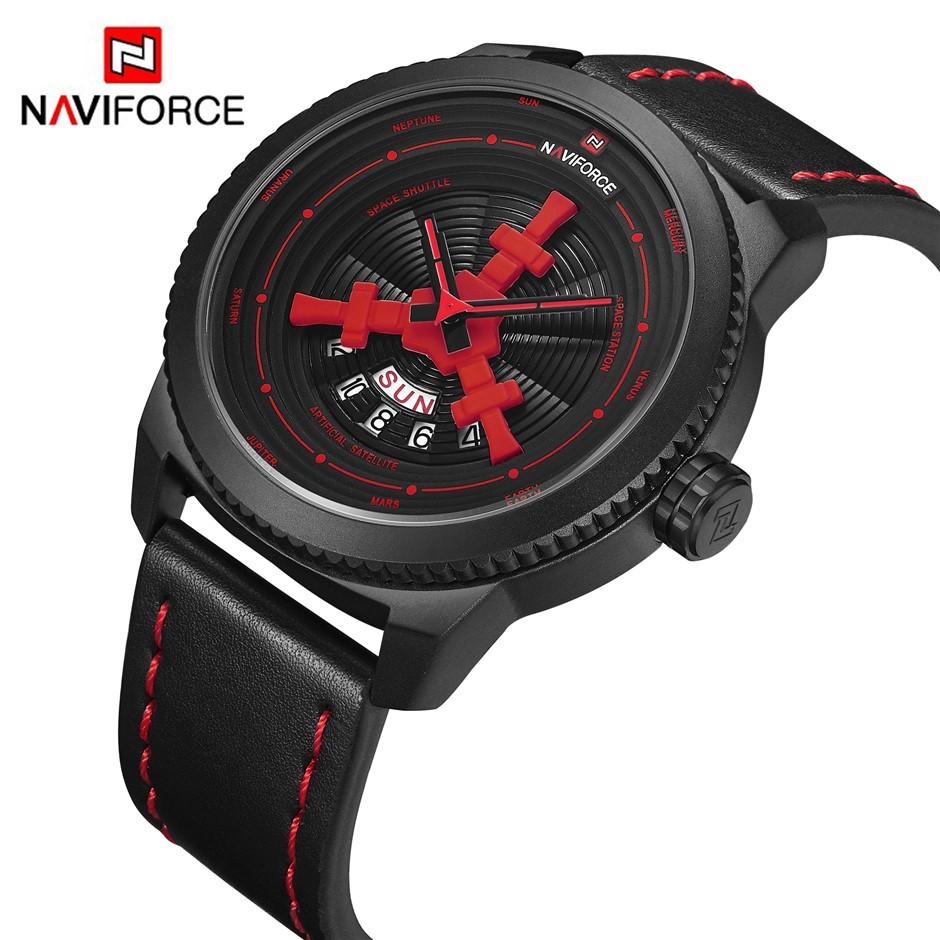 NAVIFORCE Men Elegant & Sport Analog Water-Resistant Wristwatch NF-9156 BRB