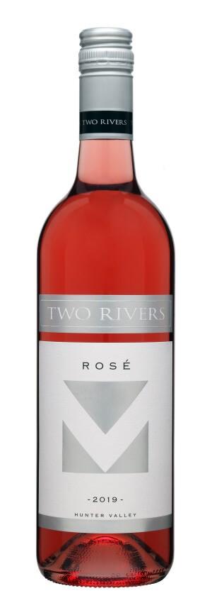 Two Rivers Rose (Shiraz) 2019 (6x 750mL).