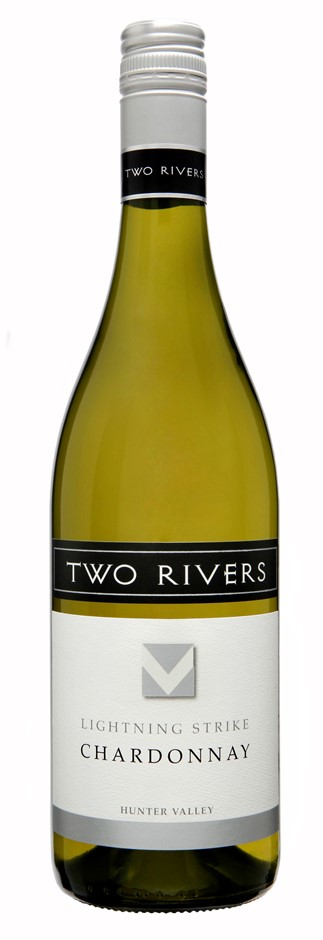 Two Rivers Lightning Strike Chardonnay 2019 (6x 750mL).