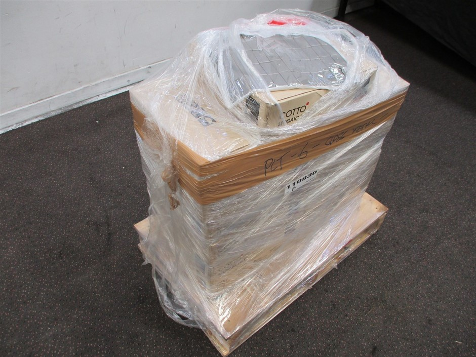 Pallet of Cotto Mosaic Tiles
