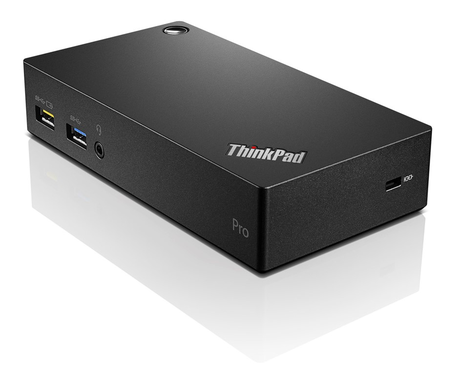 Lenovo ThinkPad USB 3.0 Pro Dock, Black