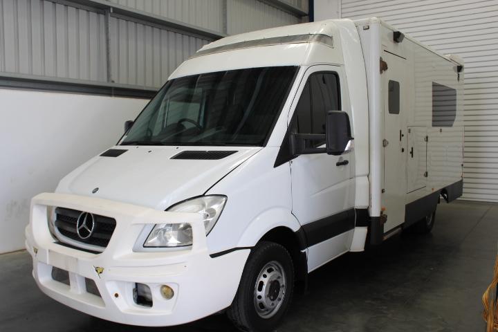 2009 Mercedes-Benz Sprinter 518 CDI LWB Auto Ambulance Van