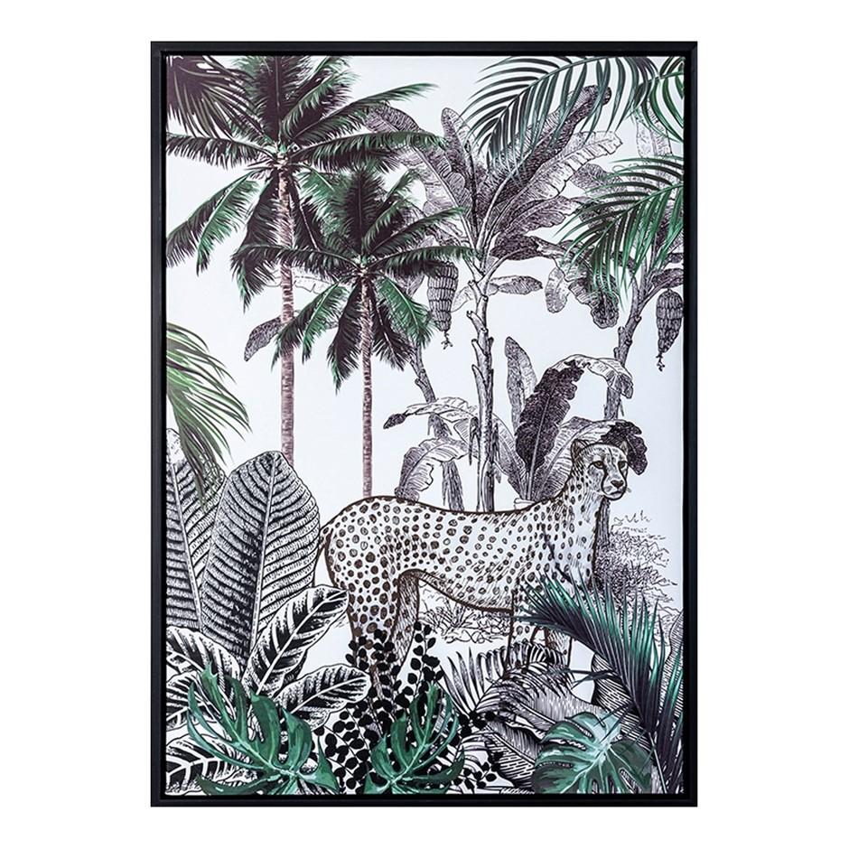 Cheetah JungleFramed Print 50X70