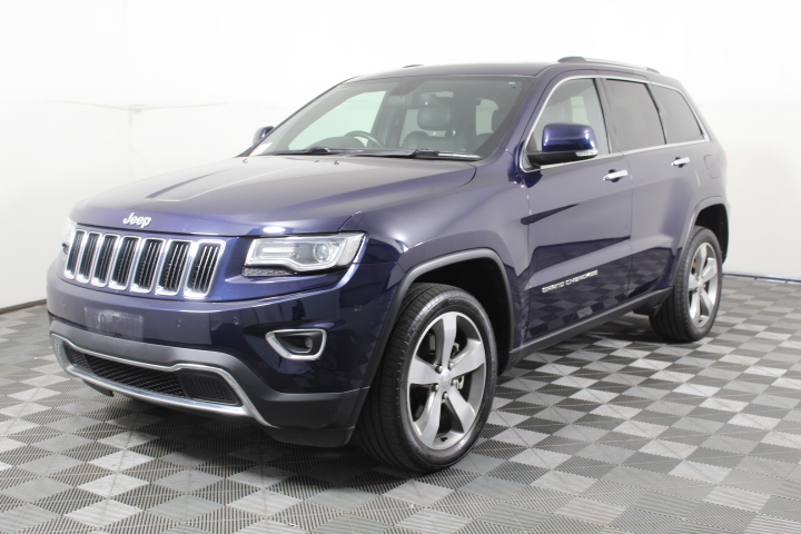 2013 Jeep Grand Cherokee Limited WK Auto 8sp 4WD 3T/D 104,357 km's