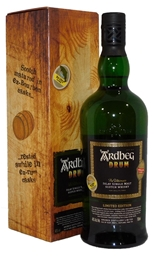 Ardbeg Drum Scotch Whisky NV (1x 700mL), Scotland. Cork closure.