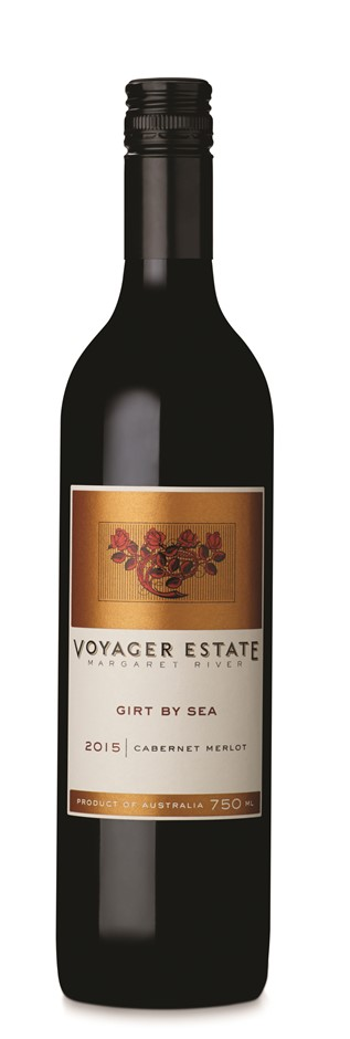 Voyager Estate Girt by Sea Cabernet Merlot 2015 (6 x 750mL) Margaret River