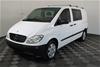 2009 MY10 Mercedes Benz Vito 111CDI Crew Cab 2+3 Seater 129,582 km's