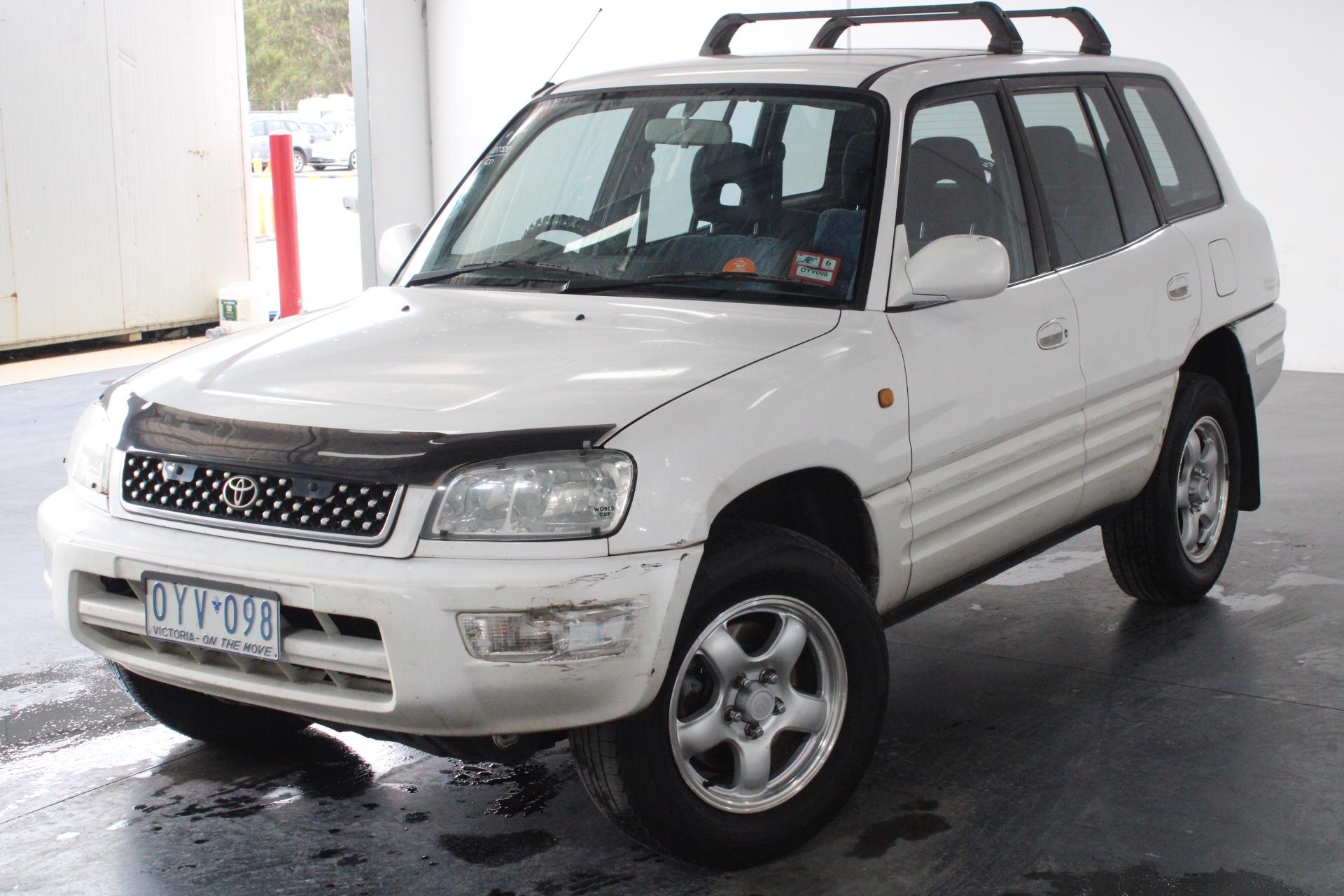 1998 Toyota Rav 4 Cruiser (4x4) SXA11R Automatic Wagon