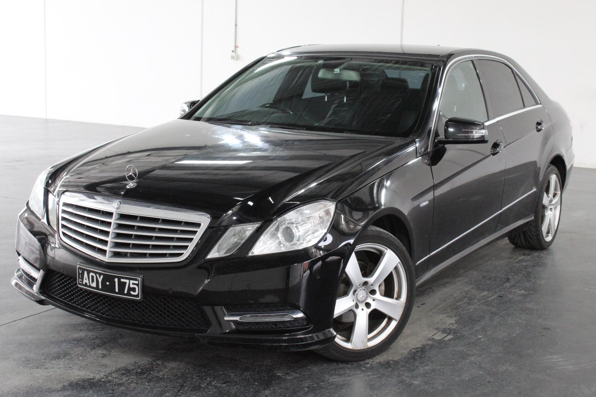 2010 Mercedes Benz E220 CDI Elegance W212 T/Diesel Auto Sedan (WOVR)