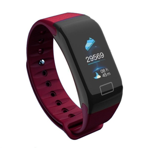 Pulse V80 Smart Watch Red