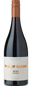 Philip Shaw No. 89 Shiraz 2017 (6x 750ml