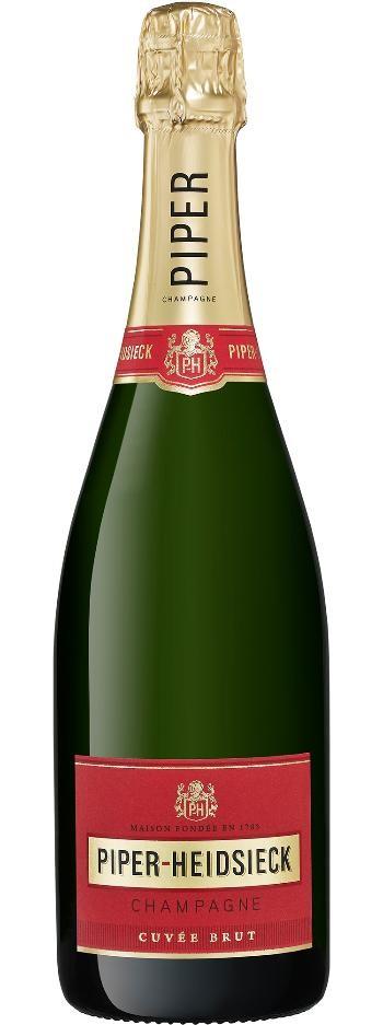 Piper Heidsieck Cuvée Brut NV (6x 750ml), Champagne. France. Cork