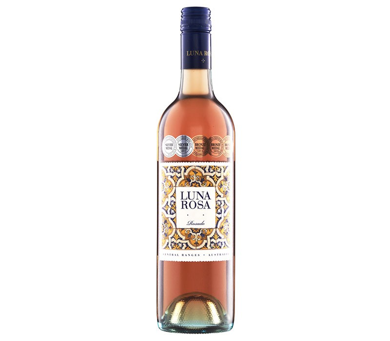Luna Rosa Rosado 2019 (12 x 750mL), Central Ranges, AUS