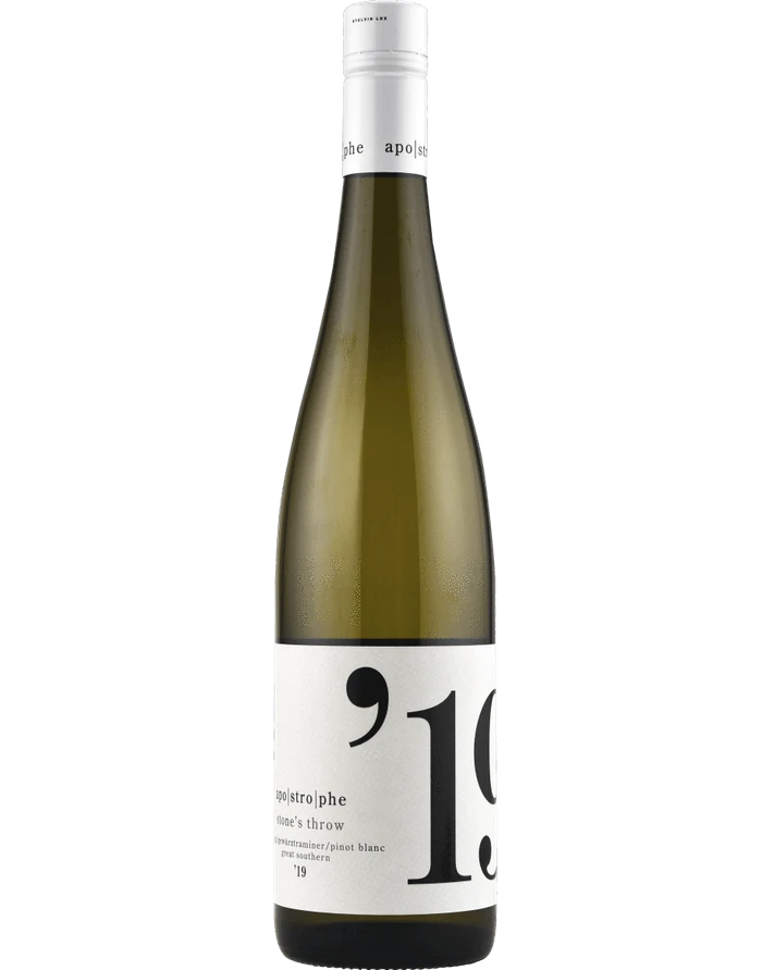 Apostrophe Stone's Throw White Blend 2019 (12x 750ml). WA