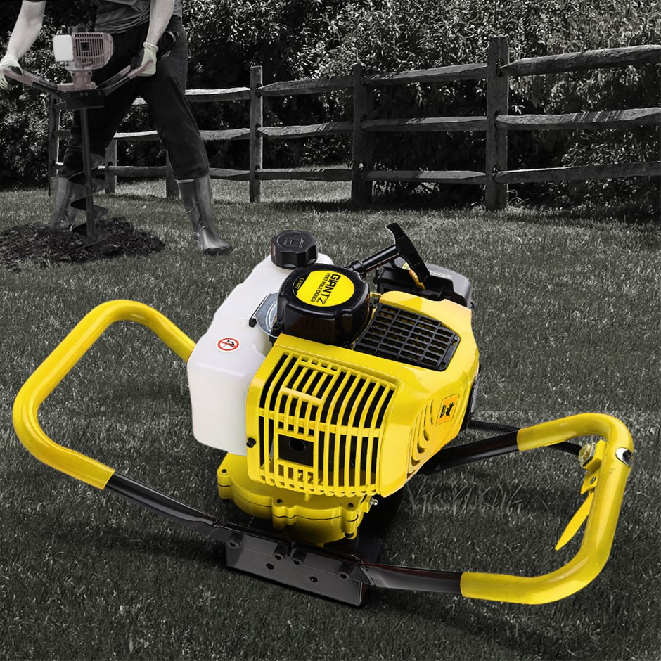 Giantz Post Hole Digger Only Engine 80CC Petrol Motor Diggers Earth Auger