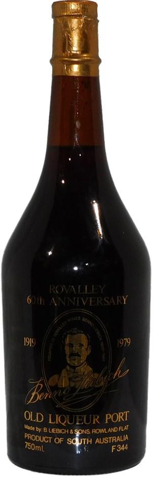 Liebich & Sons Rovalley 60th Anniversary Old Liqueur Port NV (1x 750mL), SA