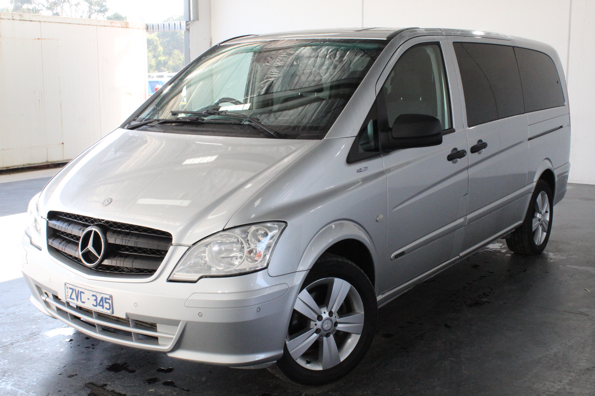 2013 Mercedes Benz VALENTE Turbo Diesel Automatic 8 Seats People Mover