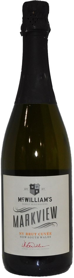 McWilliams Markview Brut Cuvee NV (12 x 750mL), NSW. Cork Closure