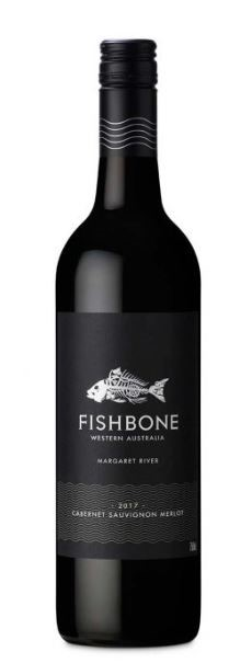 Fishbone Black Label Cabernet Sauvignon Merlot 2018 (6 x 750mL) WA