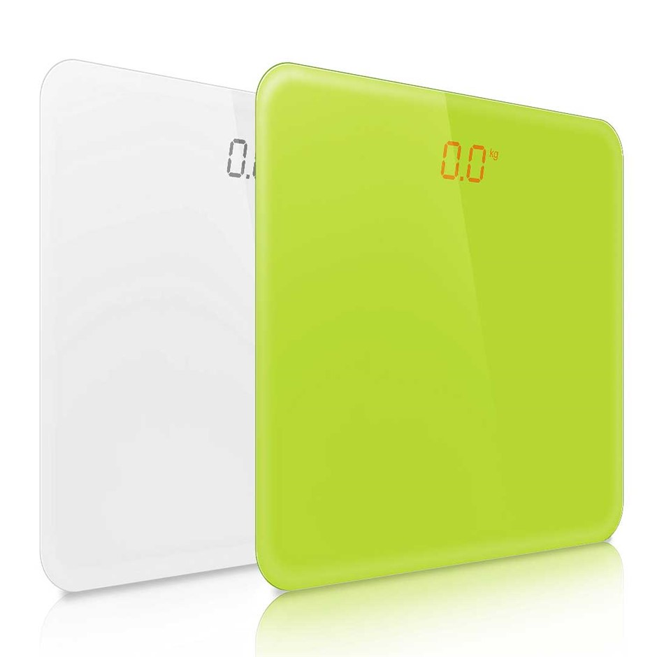 SOGA 180kg Digital Scales White/Green