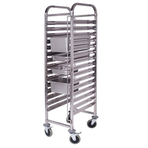 SOGA Gastronorm Trolley 16 Tier S/S Bake