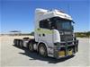 2014 Scania R 10X6 Prime Mover - GCM: 175,000 kg