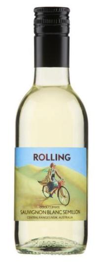 Cumulus Rolling Sauvignon Blanc Semillon 187mL 2018 (24x 187mL), NSW