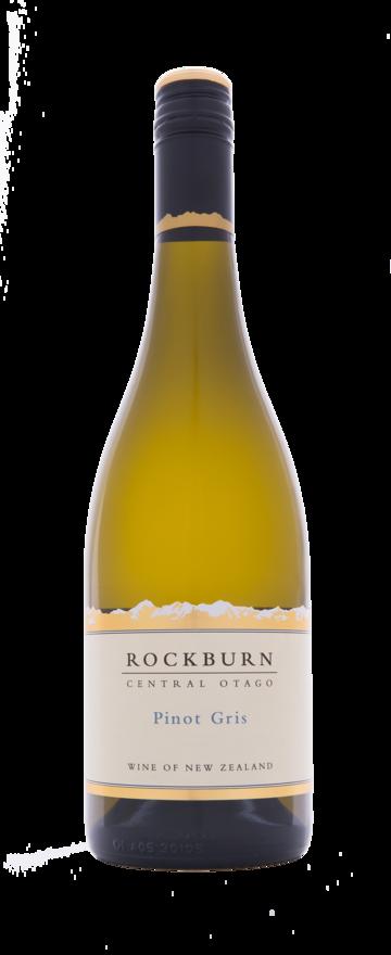Rockburn Pinot Gris 2018 (6x 750mL), Central Otago, NZ. Screwcap