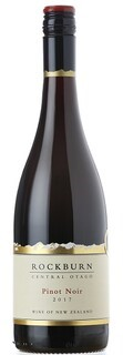 Rockburn Pinot Noir 2017 (6x 750mL), Central Otago, NZ. Screwcap