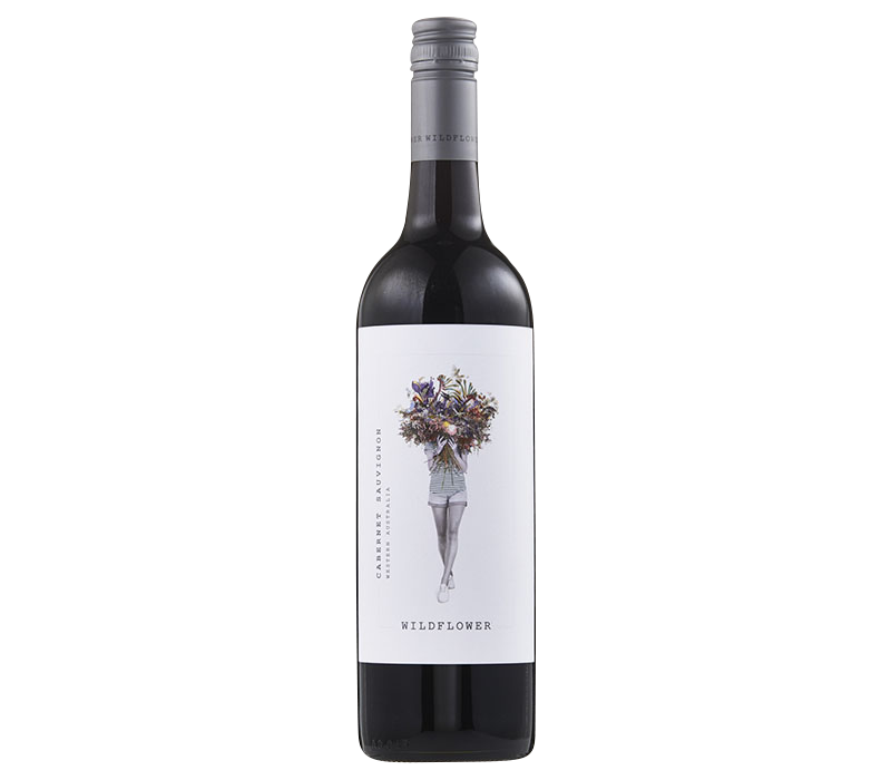 Wildflower Cabernet Sauvignon 2018 (12x 750ml), WA. Screwcap
