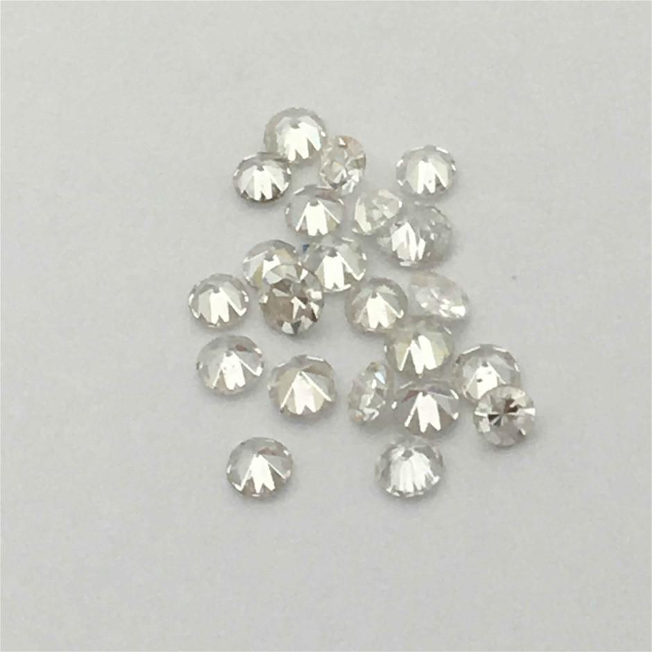 Twenty Stones Diamond, 0.30ct in Total
