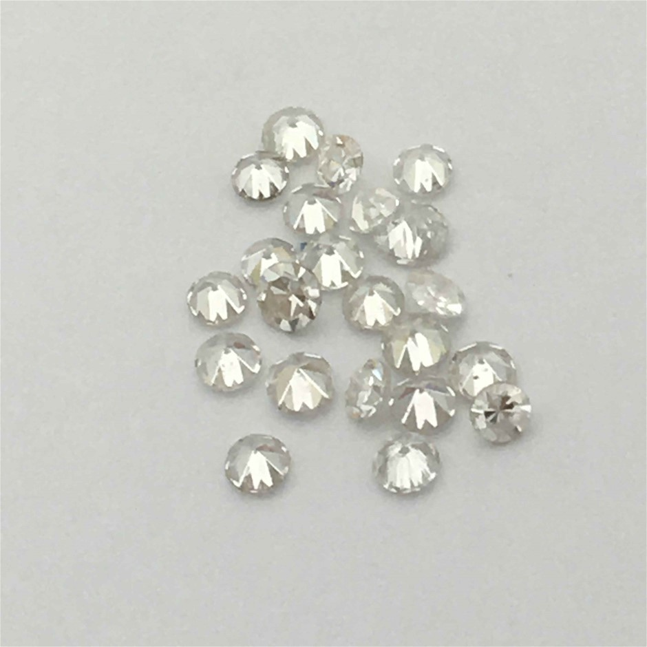 Twenty Stones Diamond, 0.30ct in Total